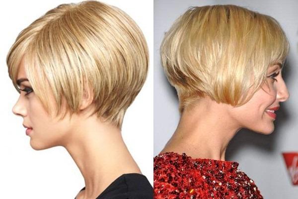 Стрижка каре-боб на короткие волосы