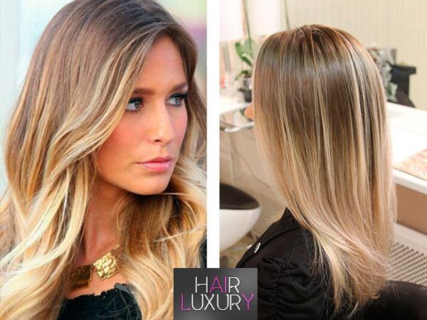 Мелирование на светлые волосы: фото