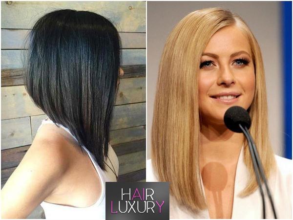 Стрижка каре-боб на средние волосы: фото
