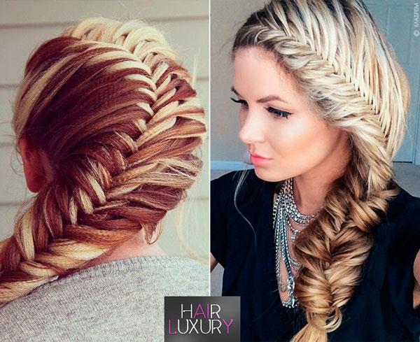 Прически с плетением: на длинные волосы