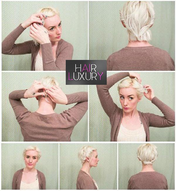 Прически на каждый день на короткие волосы
