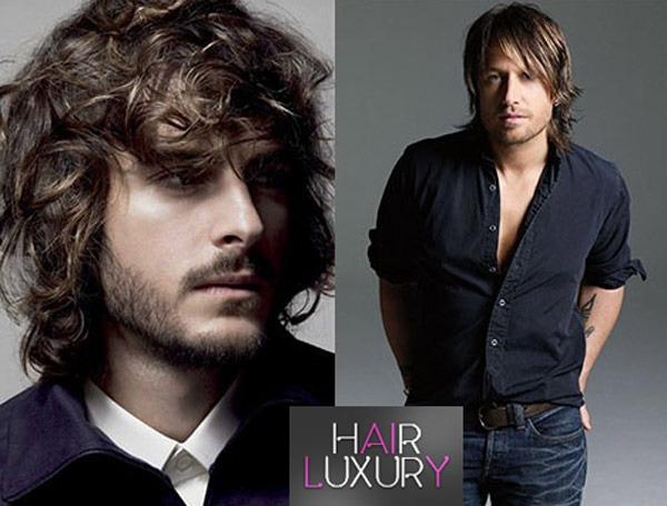 Мужские стрижки на длинные волосы