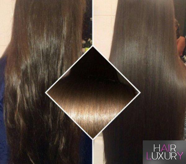 Коллагеновое обертывание волос