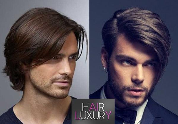 Мужские стрижки на средние волосы