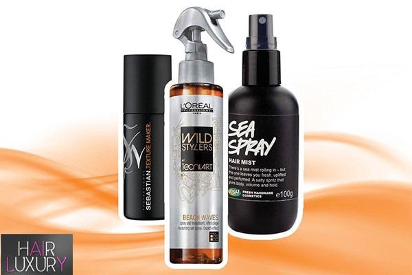Спрей для волос с морской солью: обзор с фото и видео