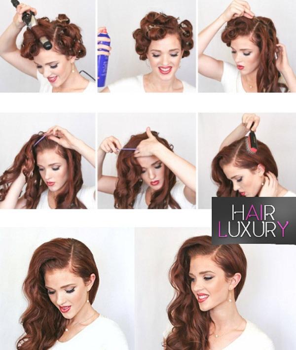 Прически вечерние: на средние волосы