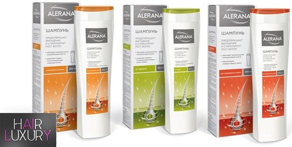 Шампунь Алерана для роста волос: состав, отзывы