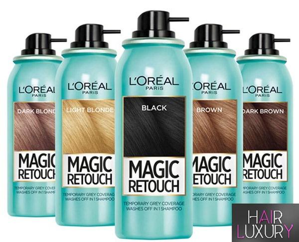 Спрей для закрашивания корней волос - Лореаль