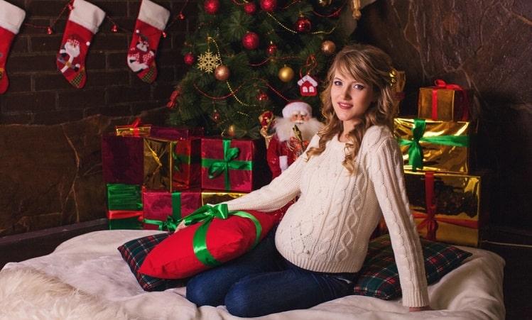 фотосессия для беременной прическа