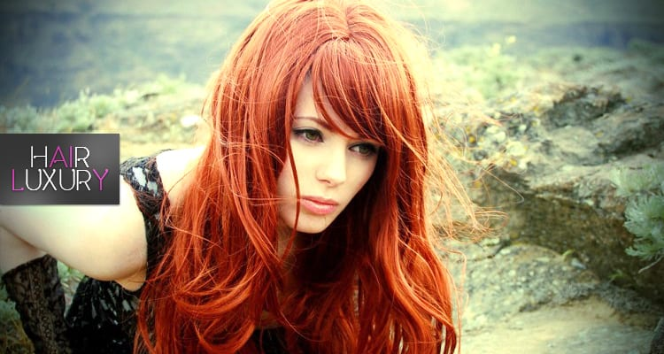 качественный парик из искусственных волос