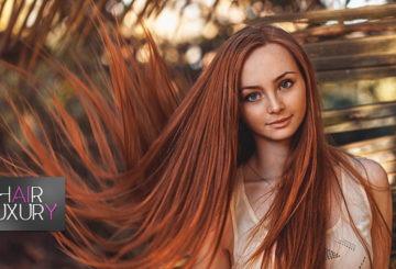 длинные наращенные волосы
