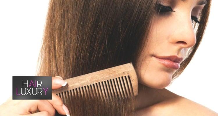 правильный уход за наращенным волосами