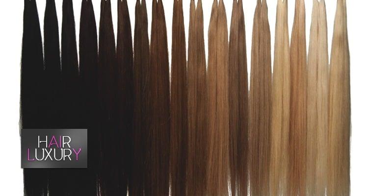 виды наращенных волос