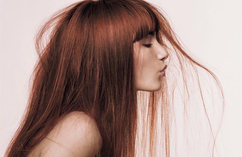 Признаки смешанного типа волос